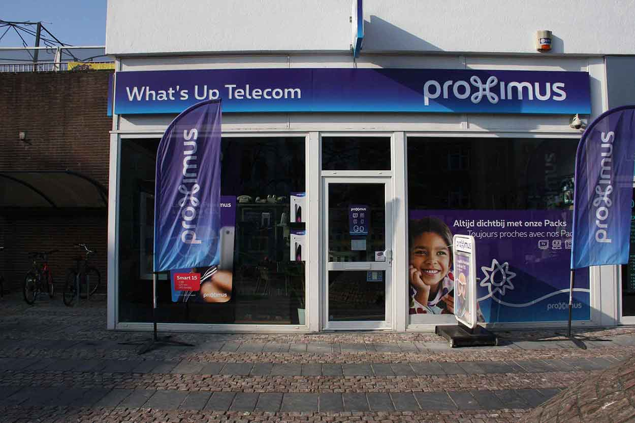 Proximus Center smartphone téléphonie mobile Place Keym 4 1170 Watermael Boitsfort