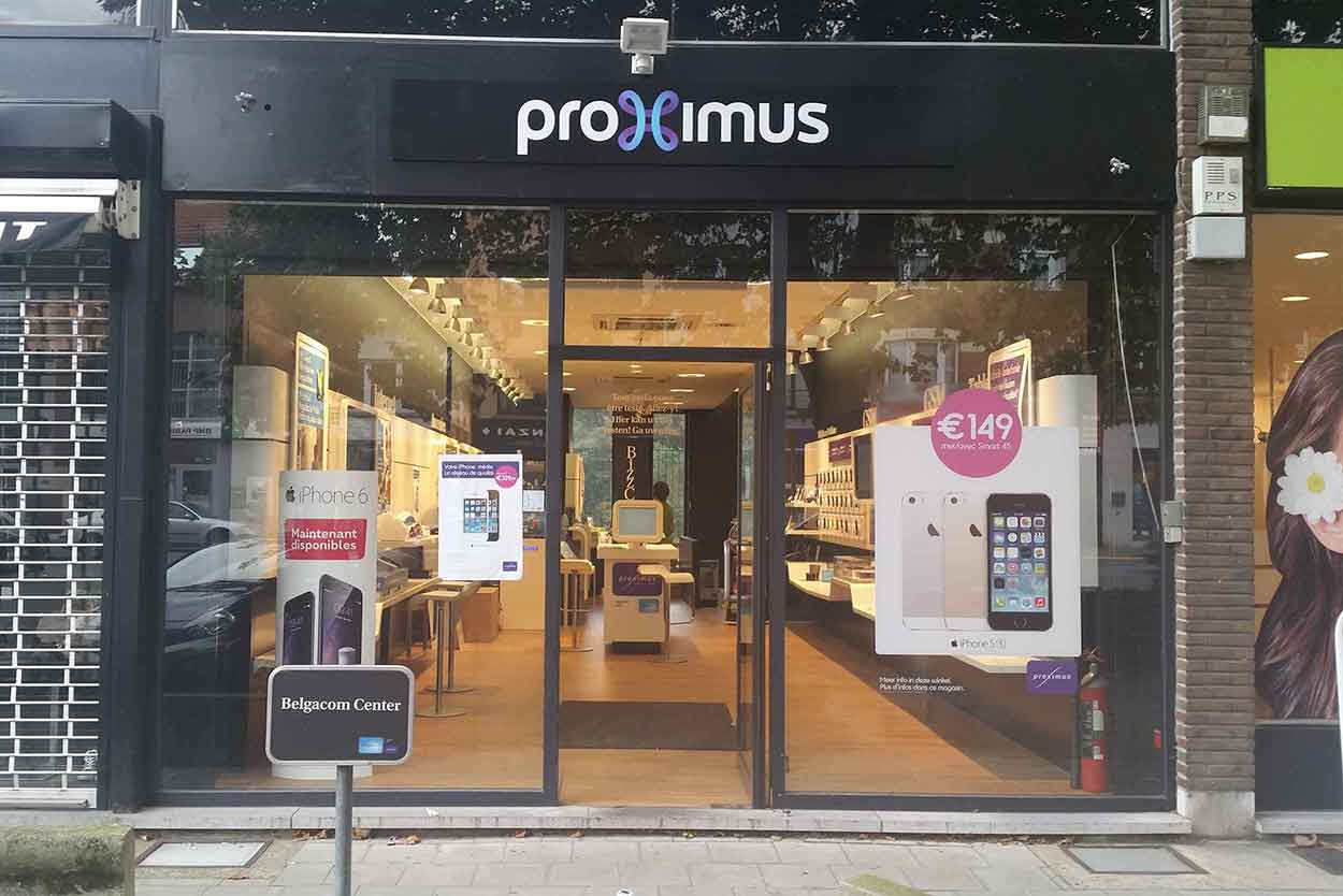 Proximus Center What's Up Telecom Chaussée de Waterloo 1328 1180 Uccle
