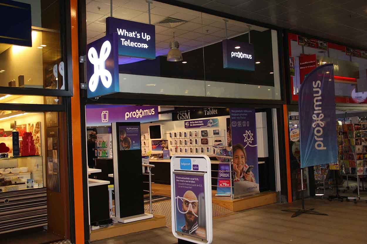 Proximus Center What's Up Telecom Chaussée de Waterloo 715/15 1180 Uccle
